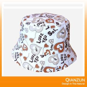 Custom Woven Label Woolen Bucket Hat pictures & photos