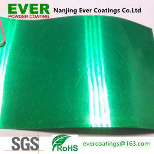 Transparent Green Candy Powder Coating Powder Paint pictures & photos
