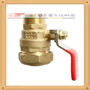 Cw617n Brass Ball Valve with Mf Thread