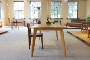 Solid Oak Wood Dining Table Restauran Table (M-X1104) pictures & photos