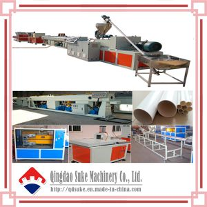 Water Supply PVC Pipe Extruder Production Line pictures & photos