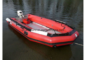 Aqualand 16FT 12 Persons Semi-Rigid Inflatable Boat/Rescue Motor Boat/Sports Rubber Fishing Boat (470) pictures & photos