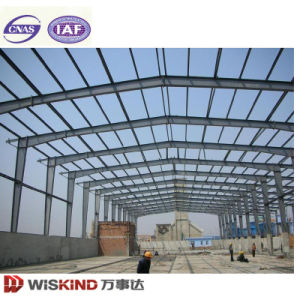 Prefab Steel Structure with Crane Beam pictures & photos