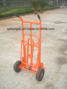 Two Wheels Hand Trolley (HT1827) with High Quality pictures & photos