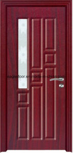 Arabic Latest Design PVC Interior Wooden Doors (EI-P149) pictures & photos