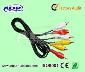 3RCA to 3RCA RCA Cable for DVD Player pictures & photos