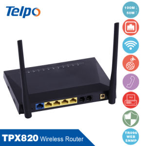 Telpo 3-Party Service VoIP Router pictures & photos