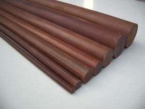Diameter 10-200mm X 1m Phenolic Rod, Bakelite Rod, Cotton Rod, Insulation Rod for High Voltage Application pictures & photos
