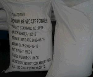 Sodium Benzoate Powder Bp98 pictures & photos