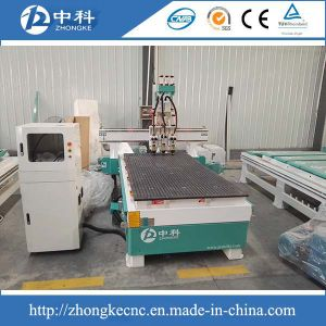 Auto Tool Changing CNC Router with Three Heads Pneumatic pictures & photos