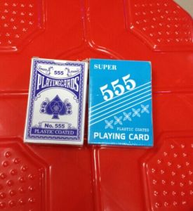 Factory Cheap Wholeslae 555 Playing Cards