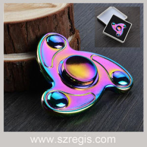 Colorful EDC Hand Spinner/Tri-Spinner Fingertips Gyro Release Stress Spinner Fidget pictures & photos