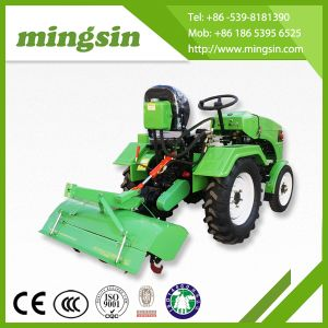 Hot Selling 12HP 4 Wheel 2WD Mini Farm Tractor Ms120/Ms150 pictures & photos