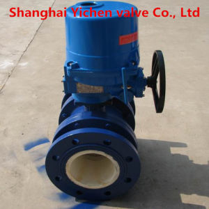 Electric Flange Ceramic Ball Valve pictures & photos