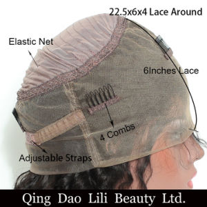 360 Lace Frontal Wig Body Wave Pre Plucked 180% Density Brazilian Remy Human Hair Medium Cap Size You May pictures & photos