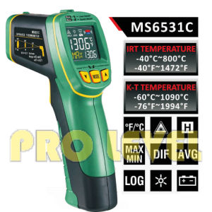 Pfofessional Accurate Non-Contact Infrared Thermometer (MS6531C) pictures & photos