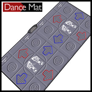 Twin Wireless Dance Mat 32 Bit for TV and PC with 30 Games 80 Songs