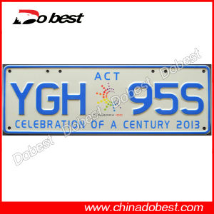 Embossed Car Number Plate for Australia pictures & photos