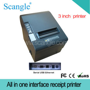 80mm POS Thermal Printer with Auto Cutter pictures & photos