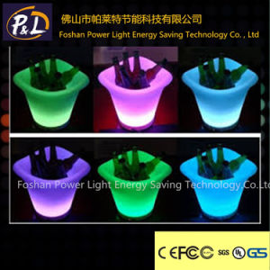 Home Bar Party Decorative Colorful Plastic LED Bucket pictures & photos
