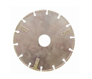 Electroplated Segmented Diamond Saw Blade with Protection Segment (JL-EDBSP) pictures & photos