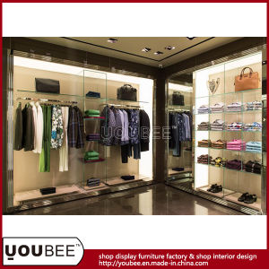 High End Clothes Display Shelving, Fashion Shopfitting, Shop Display Fixtures pictures & photos
