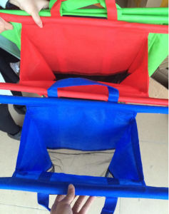 Reduce Reuse Recycle Foldable Reusable Grocery Cart Bag pictures & photos