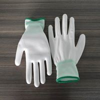 PU Coated Work Gloves pictures & photos
