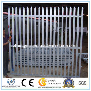 Palisade Fencing/Metal Fence Used Security Fence pictures & photos