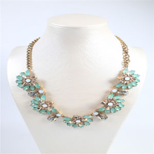 New Design Blue Tone Fashion Jewellery Set Necklace Earring Bracelet pictures & photos