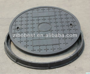 FRP/GRP Material Square Lighter Locking Manhole Cover Made in China pictures & photos