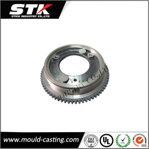 Aluminum Die Casting Parts for Professional Double Helical Tank Gear pictures & photos