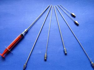 Anesthetic and Water Injection Cannula Luer Lock pictures & photos