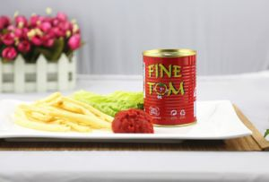 Tasty Canned 400g Tomato Paste of Fine Tom Brand pictures & photos