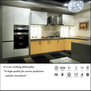 High Glossy Kitchen Cabinet (ZH05) pictures & photos