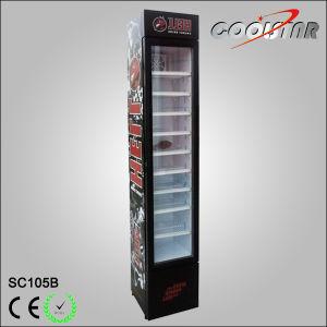 Commercial Slim Type Tabletop Glass Door Beverage Cooler pictures & photos