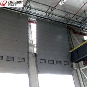 China Supplier Overhead Industrial Door Workshop Sectional Door pictures & photos