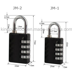 4 Digital Code Combination Lock with Master Key pictures & photos