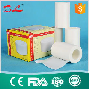 Hypoallergenic Cotton Silk Surgical Tape 10cm*5m pictures & photos