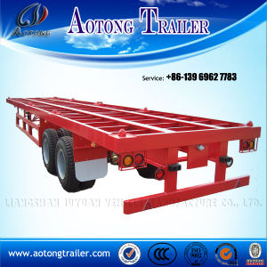 20ft Skeleton Container Semi Trailers for Sale pictures & photos