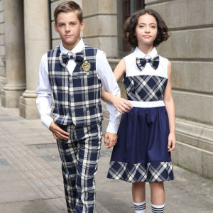 Girls and Boys Sample Middle School Uniform Design pictures & photos