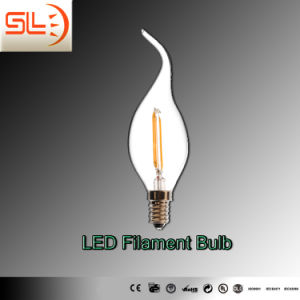 LED Filament Bulb Light, Candle Light, 2W E14 pictures & photos