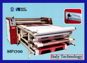 Sublimation Heat Roller Press Mf1700t, for Mass Textile Printing pictures & photos