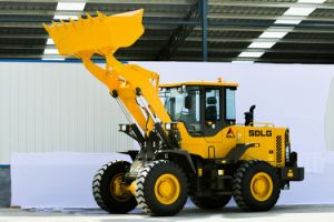 3t Wheel Loader Sdlg LG936L with A/C and Joystick pictures & photos