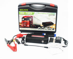 New Design High Power Auto Car Ce RoHS 19V Multi-Function Mini Car Jump Starter 24V pictures & photos