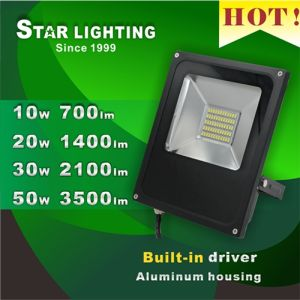 20W Aluminum Waterproof LED Flood Light