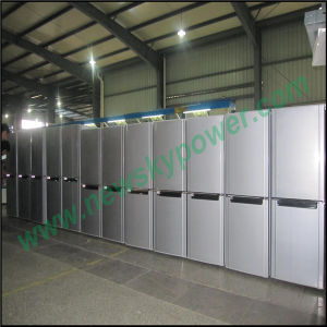 China Manufacturer Upright Solar Power Refrigerator pictures & photos