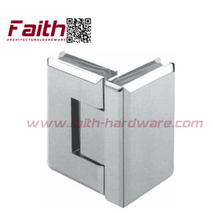 Excellent Quality Frameless Shower Glass Door Hinge (SHB. 90G. BR) pictures & photos