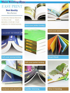 Luxurious and High Quality Hardcover Book Printing pictures & photos