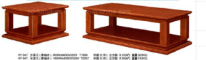 2015 Hot Sales! Teak Wood Office Tea Table Antique (HY-947)